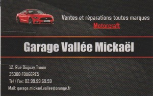 GARAGE VALLEE MICKAEL (Fougères)